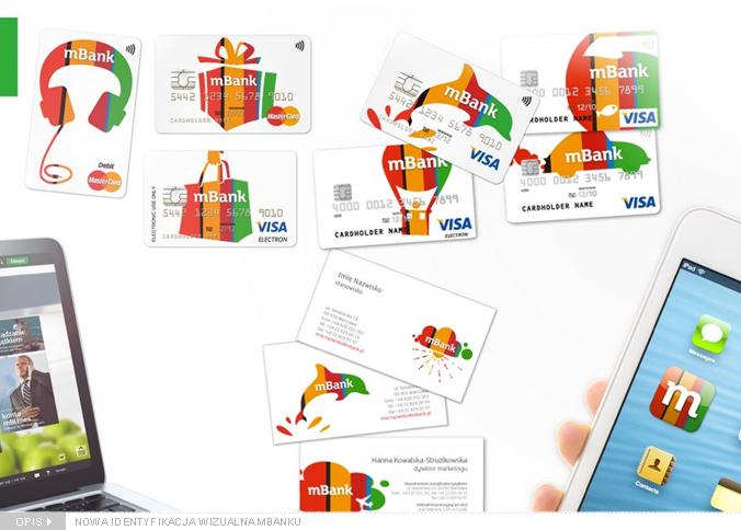 Nowa Identyfikacja Mbanku Branding Monitor