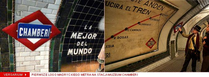 versarium-pierwsze-logo-metro-madryckie-chamberi