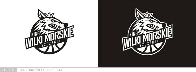 logo-wilki-morskie-szczecin-czarno-biale