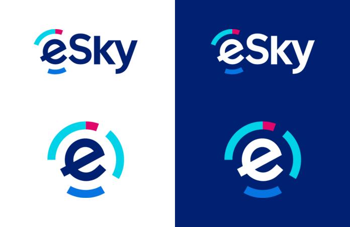 Nowe logo eSky.pl po rebrandingu