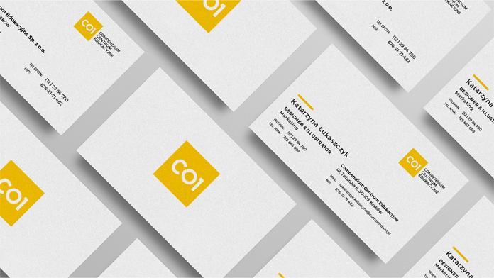 Rebranding Compendium - wizytówki z nowym logo