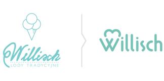 Rebranding Willisch - Nowe logo lodziarni