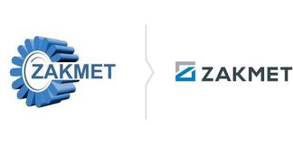 Rebranding Zakmet - nowe logo