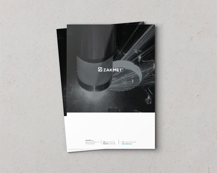 Nowe logo i folder Zakmet