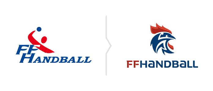 Rebranding FFHandball nowe logo