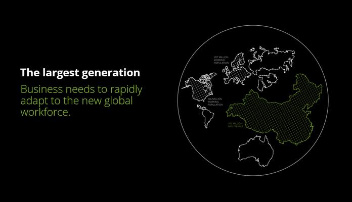 Grafika w nowej stylizacji Deloitte