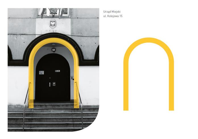 Inspiracja litera N - logo Nysy