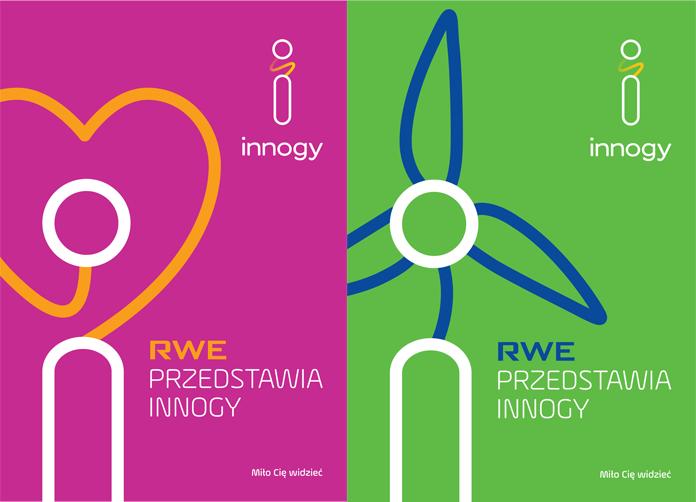 Nowe logo Innogy - rebranding RWE