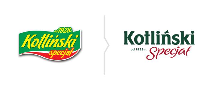 Rebranding Kotliński Specjał