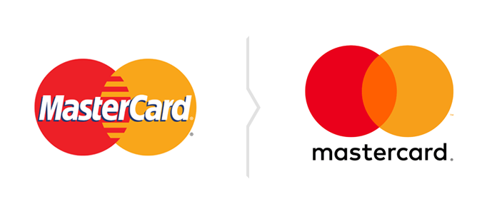 Rebranding Mastercard - nowe logo