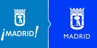 Rebranding lifting logo Madrid