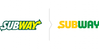 Rebranding Subway - nowe logo