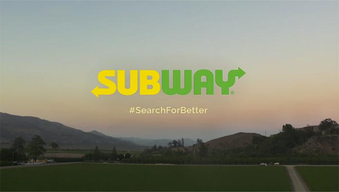 Subway zmienia logo