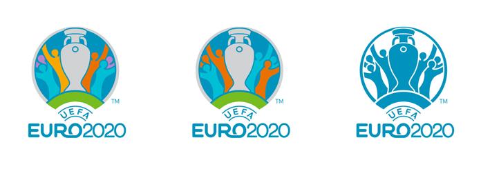 Warianty znaku Euro 2020