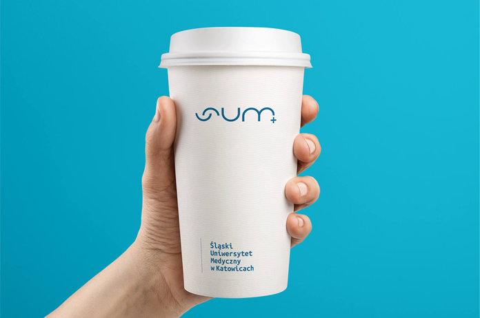 Kubek z nowym logo SUM