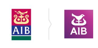 Rebranding AIB - nowe logo