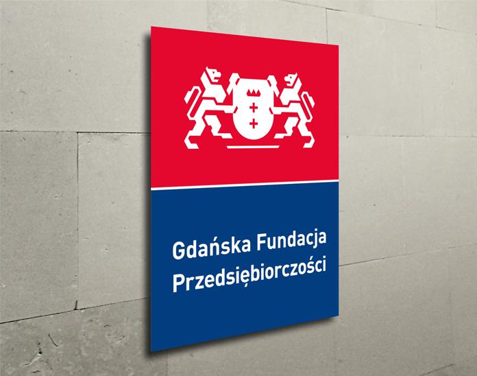 Logo Gdańskiej Fundacji Przedsiębiorczości