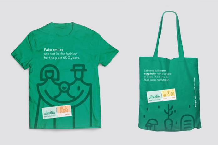 Materiały promocyjne - nowa marka Litwy