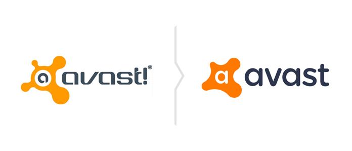 Rebranding Avast - nowe logo