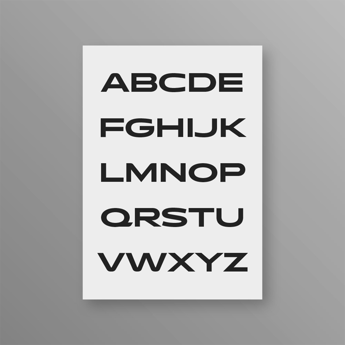 Typografia logotypu Qantas