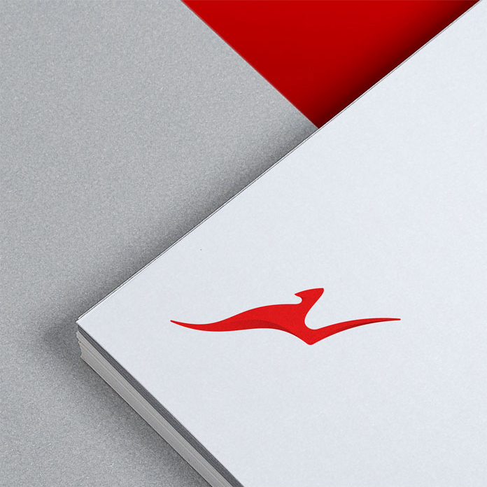 Nowy symbol Qantas rebranding