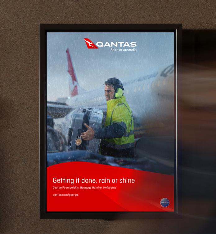 Qantas przechodzi rebanding - wizualizacja nowego logo