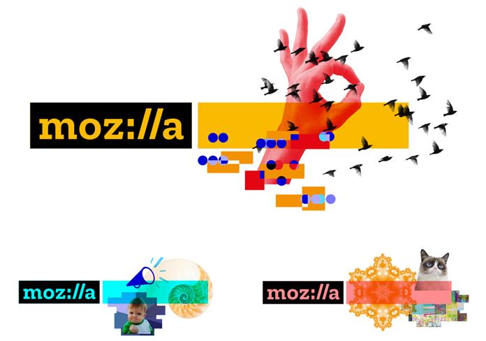 Nowe logo Mozilla - rebranding identyfikacji