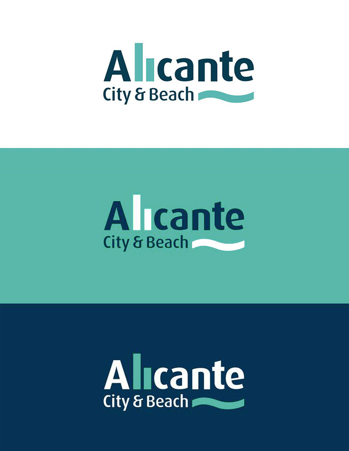 Wersje alternatywne nowego logo Alicante