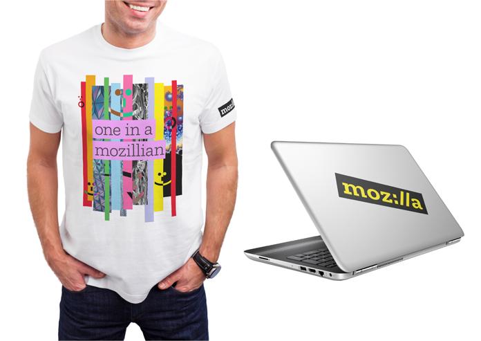 Przykładowa wizualizacja nowego brandu Mozilli