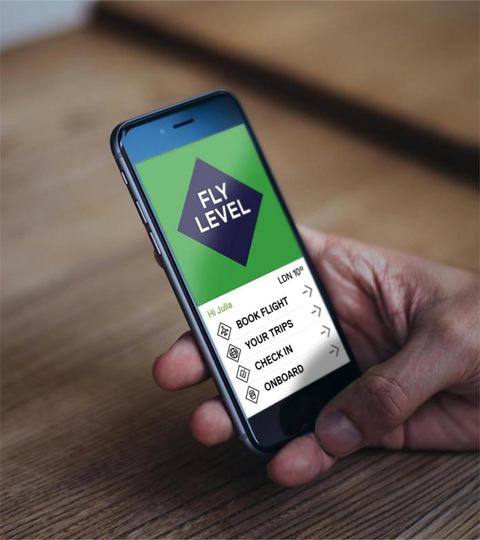 Projekt aplikacji mobilnej Level