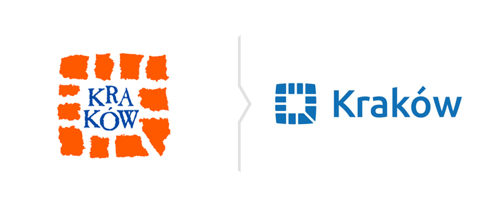 Nowe logo Krakowa