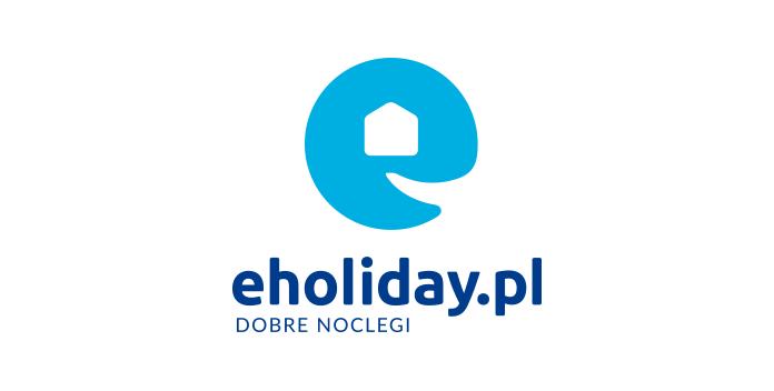Nowe logo eholiday.pl w wersji pionowej