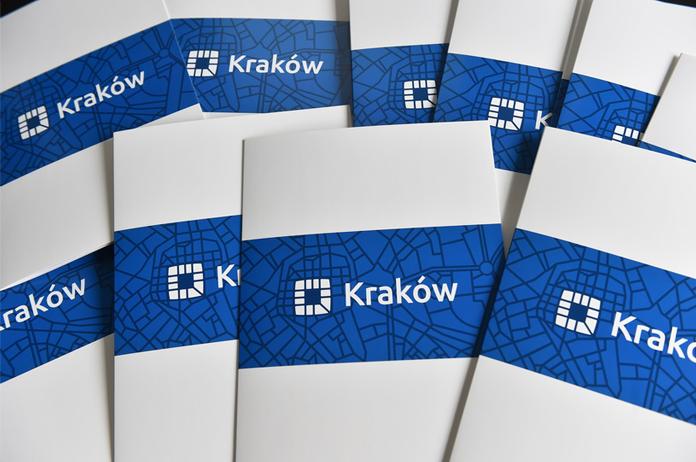 Tak prezentuje się nowe logo Krakowa