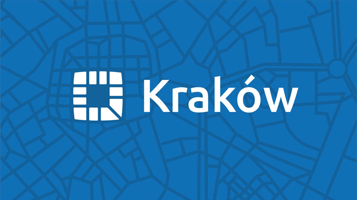 Kraków ma nowe logo - mapa