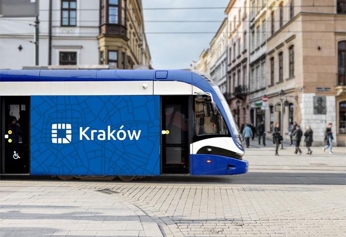 Wizualizacja nowego logo Krakowa