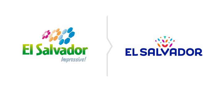 Rebranding Salwadoru - nowe logo