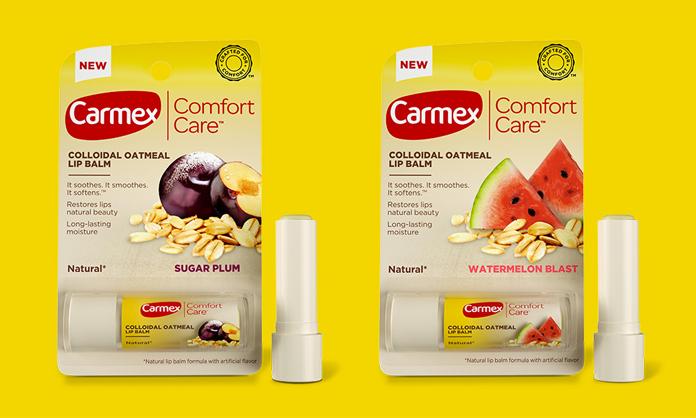 Rebranding Carmex - nowe logo i opakowanie