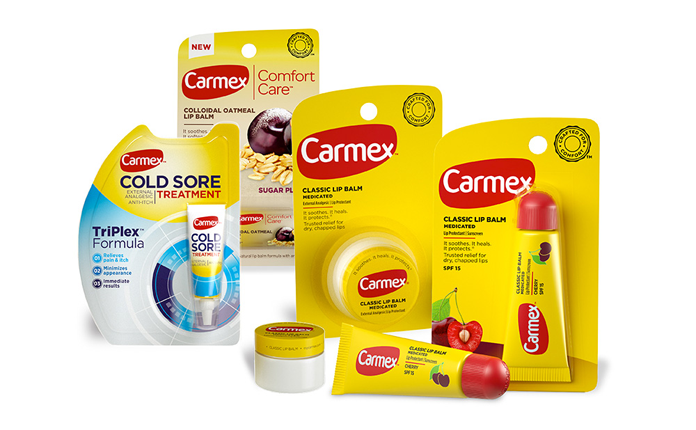 Nowe opakowania Carmex