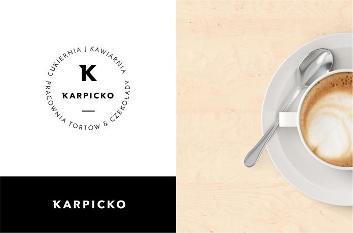 Karpicko ma nowe logo - sieć cukierni