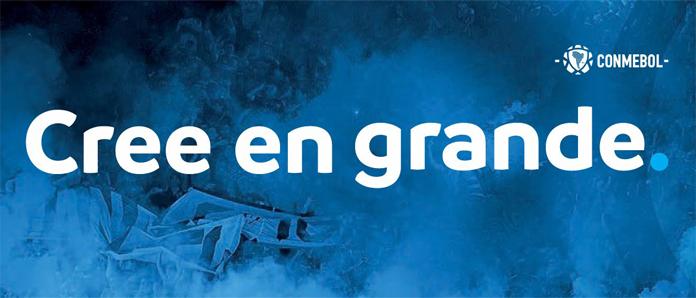 Rebranding CONMEBOL - nowe hasło przewodnie