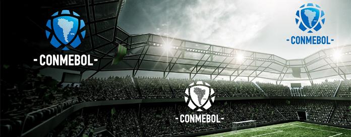 Wizualizacja wariantów nowego logo CONMEBOL