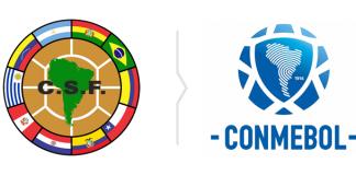 Rebranding CONMEBOL - nowe i stare logo