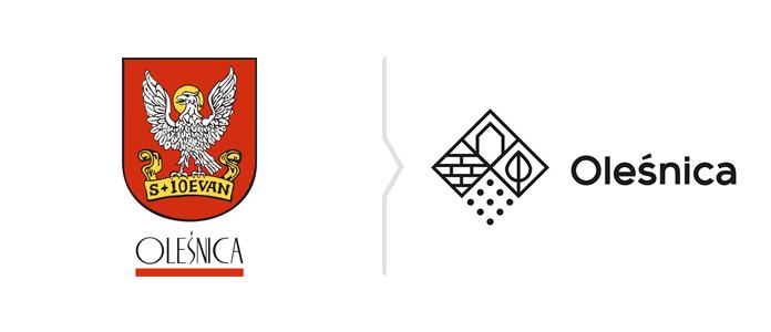 Oleśnica zmienia logo - rebranding