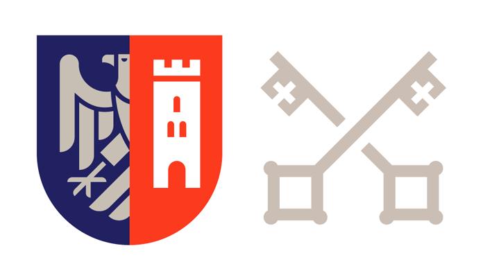 Sygnet nowego logo Wadowic