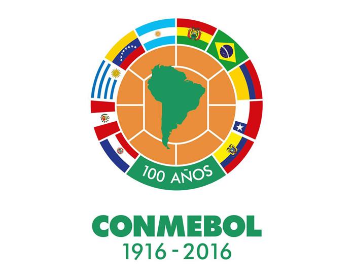 Okolicznościowe logo CONMEBOL