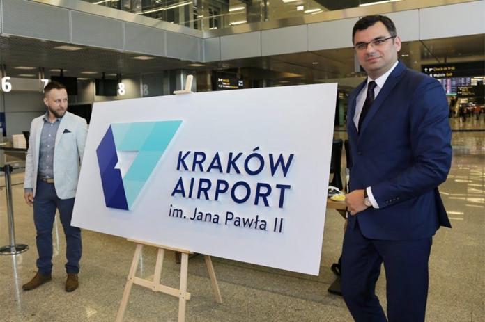 Prezentacja nowego logo Kraków Airport
