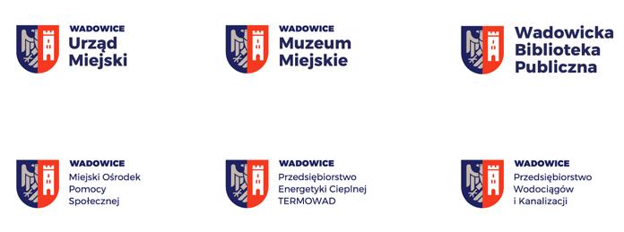 Znaki jednostek miejskich Wadowic