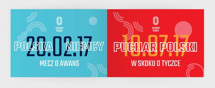 Nowa identyfikacja Stadionu Śląskiego - grafiki