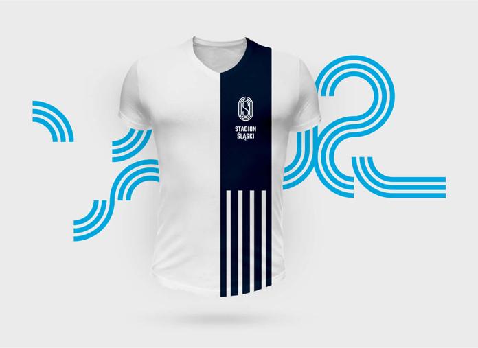 Nowa identyfikacja Stadionu Śląskiego - koszulka