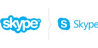 Zmiana logo Skype - nowy znak